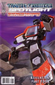 Transformers Spotlight Sideswipe Cover A (2008) IDW Publishing comic book